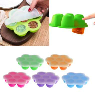 Baby Food Container Infant Fruit Breast Milk Storage Box Freezer Tray Crisper