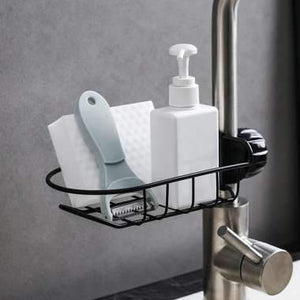 Bathroom Kitchen Supplies Wash Basin Tools Sink Drain Rack Pool Drain Rack Storage Hanging Basket Drain Sink Rack Hanging Bag