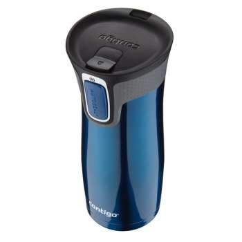 Contigo 16 Oz. Autoseal West Loop Vacuum-insulated Travel Mug with Easy Clean Lid, Stainless Steel