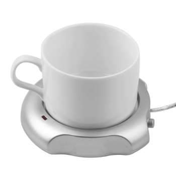 Portable USB Cup Heater Mug Hot Pad USB Pad Heat Water Coffee Milk Tea Mug Mat Convenient Kitchen Drinks Heater Tools