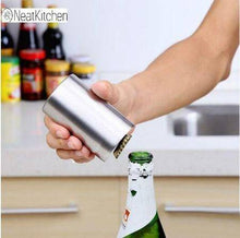 Automatic Beer Openers Stainless Steel Soda Water Soft Drinks Opener Kitchen Gadgets Bar Tools