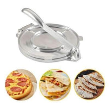 2 Color Tortilla Maker Cake Press Pot Tool Dough PressureTortilla Aluminum Alloy Pie Machine Press Home Appliance Part Tools