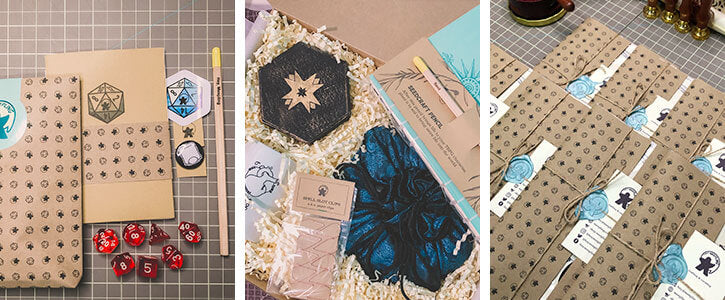 Custom and curated gift boxes from Hey Meepling
