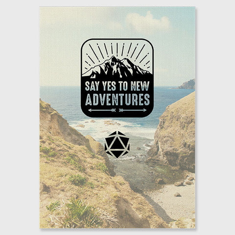 Build-A-Tome: Cover Upgrade - Say Yes to New Adventures (Other Colors Available)