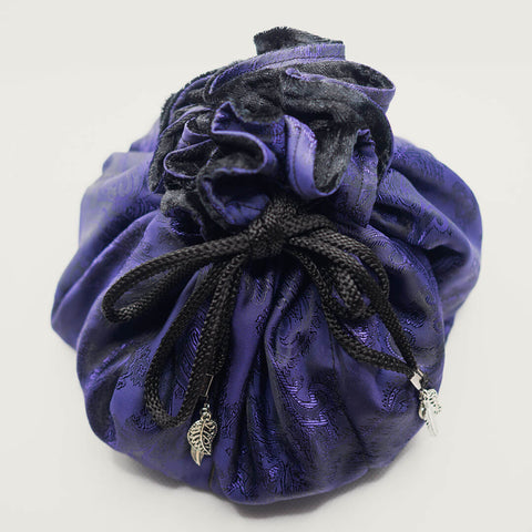 Purple Paisley Dice Bag