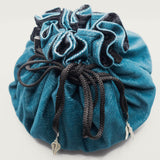 Teal Corduroy Dice Bag