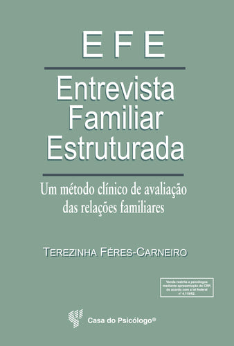 EFE - Entrevista familiar estruturada (Manual)