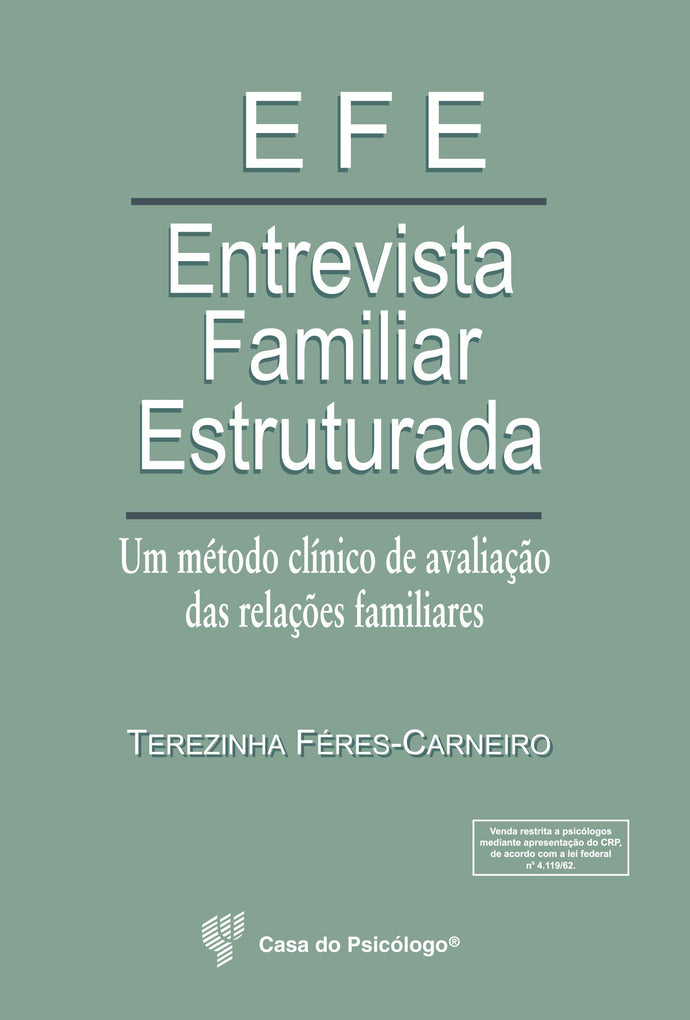 EFE - Entrevista Familiar Estruturada (Kit)