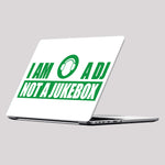I Am A Dj, Not A Jukebox Laptop Skin/Decal - GET FRESH MARKETPLACE