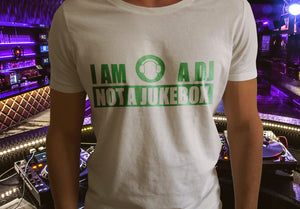 I Am A Dj, Not A Jukebox Short Sleeve T-Shirt - GET FRESH MARKETPLACE