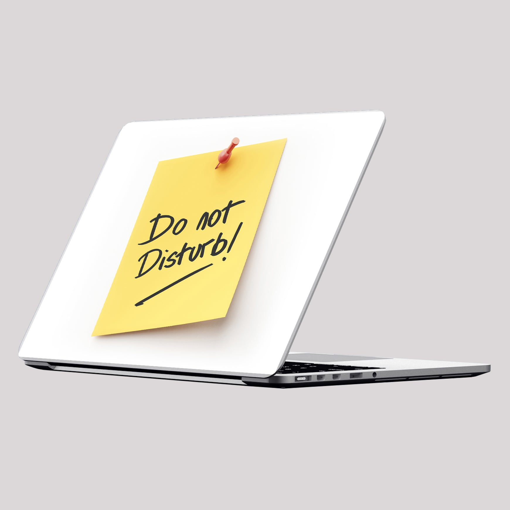 Do Not Disturb Laptop Skin/Decal - GET FRESH MARKETPLACE