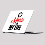 Music Is My Life Laptop Skin/Decal - GET FRESH MARKETPLACE