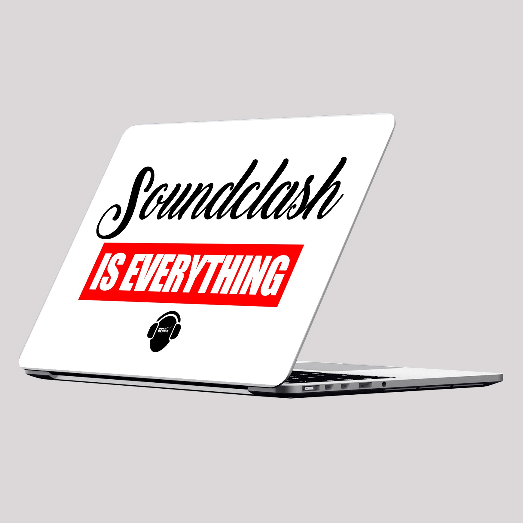Soundclash is Everything Laptop Skin/Decal - GET FRESH MARKETPLACE