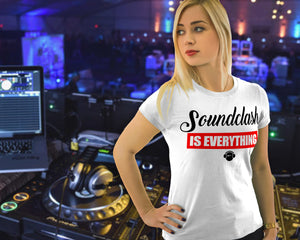 Soundclash is Everything Short Sleeve T-Shirt - GET FRESH MARKETPLACE