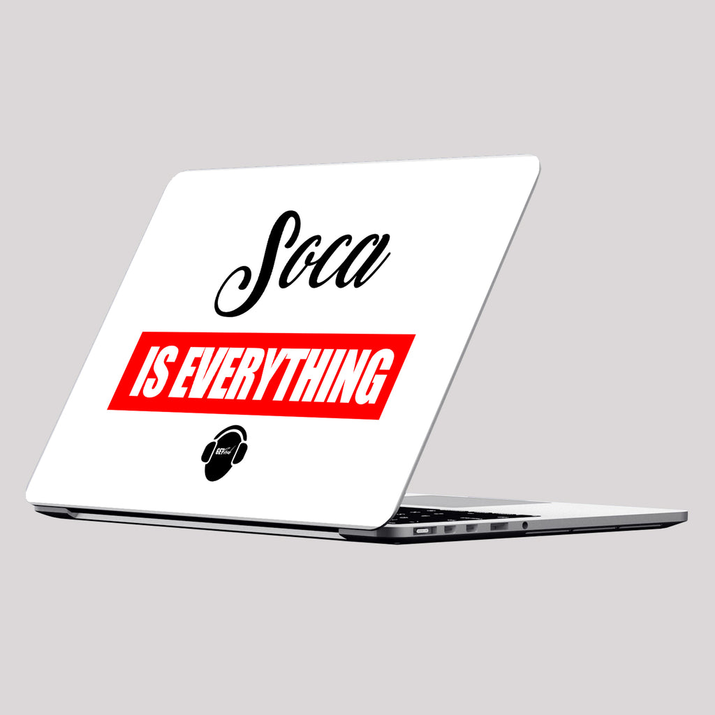 Soca is Everything Laptop Skin/Decal - GET FRESH MARKETPLACE