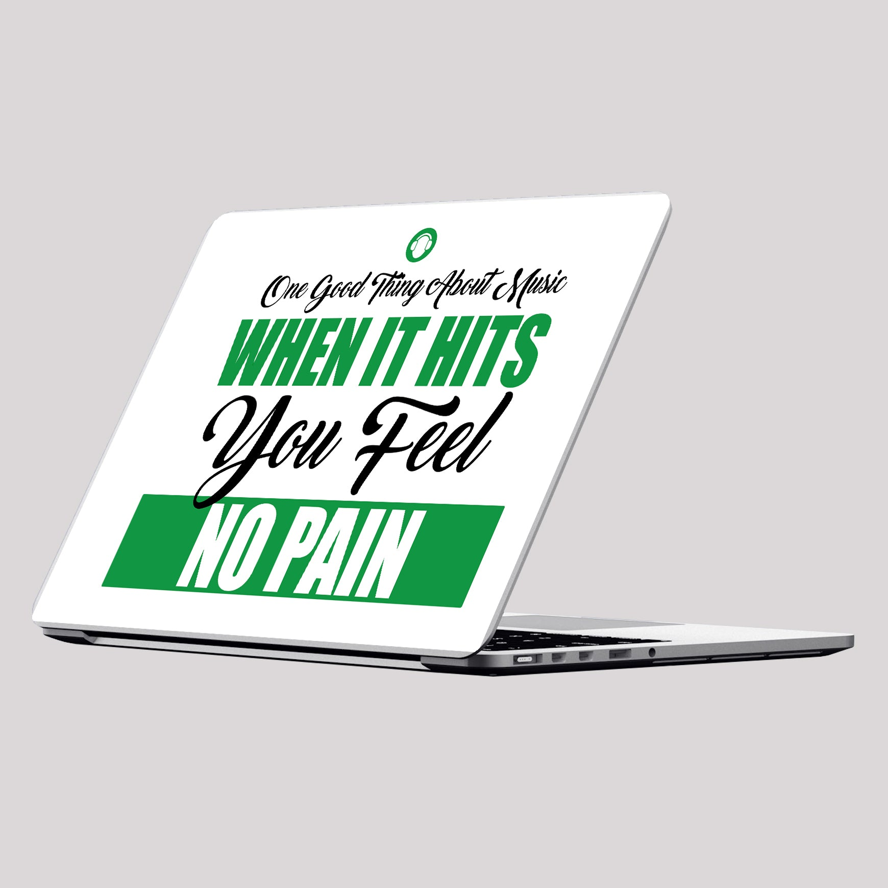 One Good Thing About Music Laptop Skin/Decal - GET FRESH MARKETPLACE