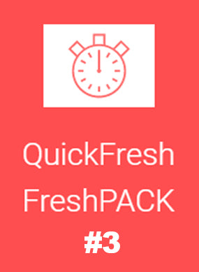 QuickFresh FreshPACK #3 - GET FRESH MARKETPLACE