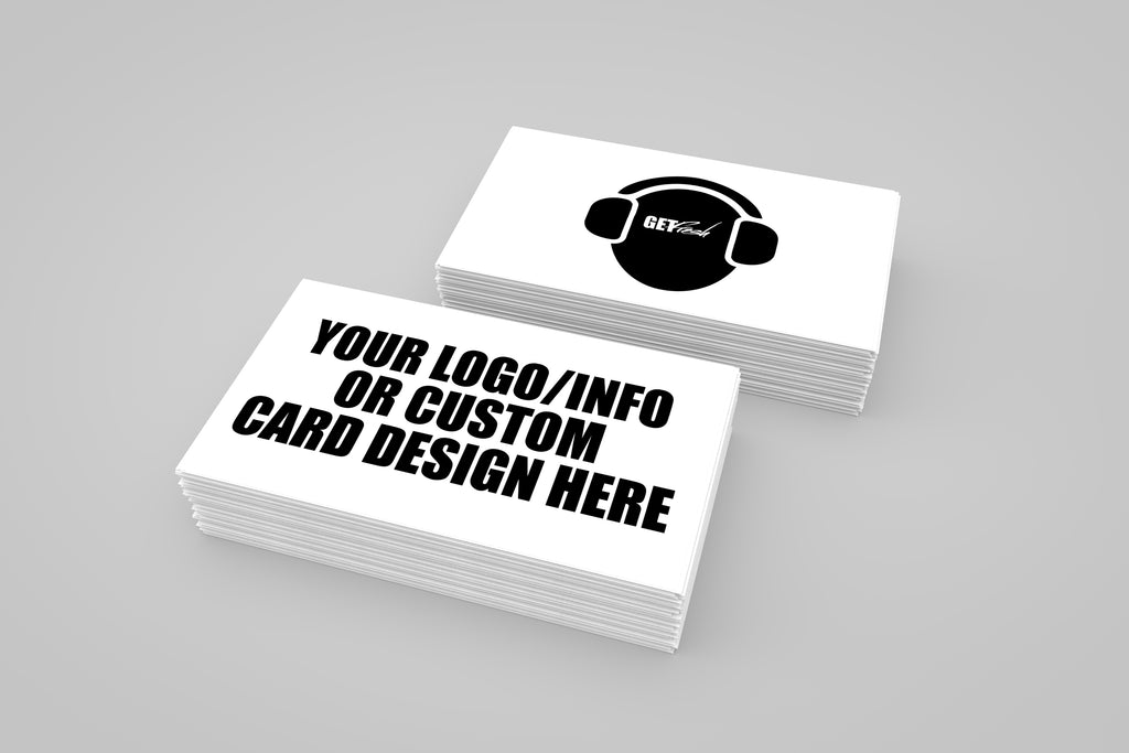 16PT Card Stock UV Gloss Business Cards (Design & Print) - GET FRESH MARKETPLACE