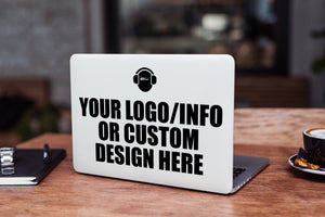 Custom Laptop Skin/Decal - GET FRESH MARKETPLACE