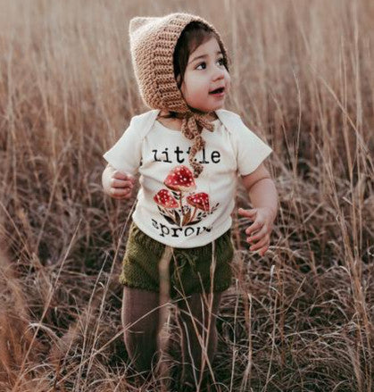 Little Sprout Short Sleeve Organic Bodysuit