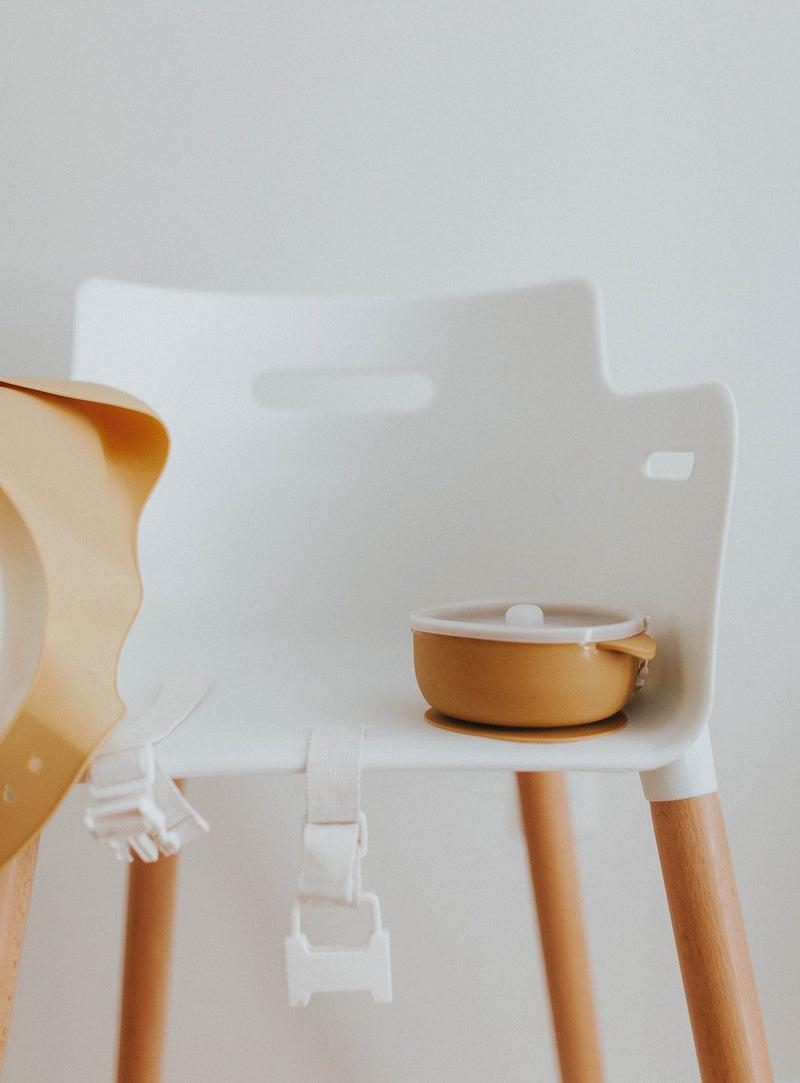 Baby Bowl| Suction Bowl| Mustard