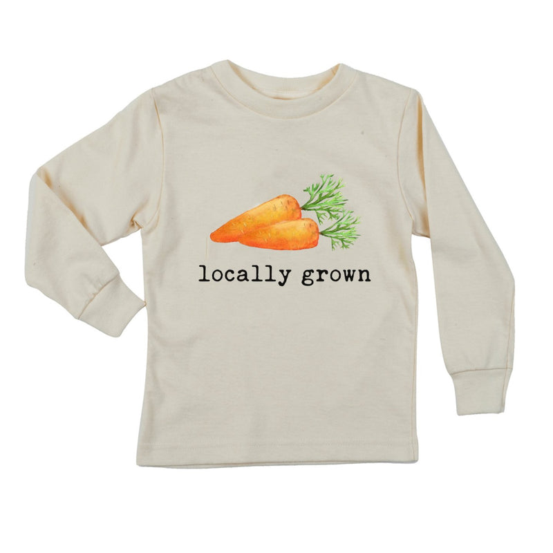 """Locally Grown"" Carrot Short Sleeve Organic Tee"