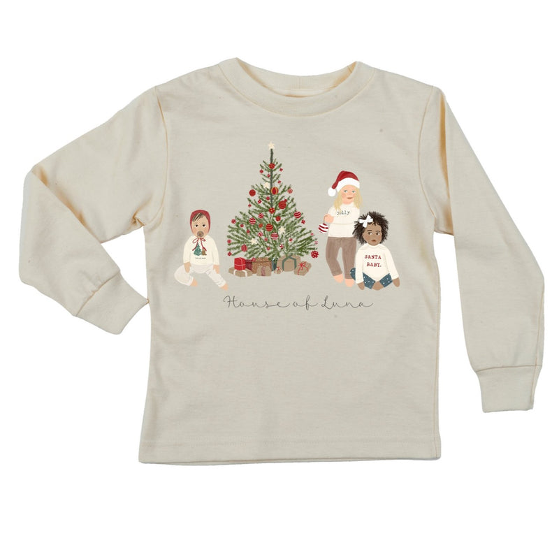 """House Of Luna"" Christmas LE Long Sleeve Organic Tee"