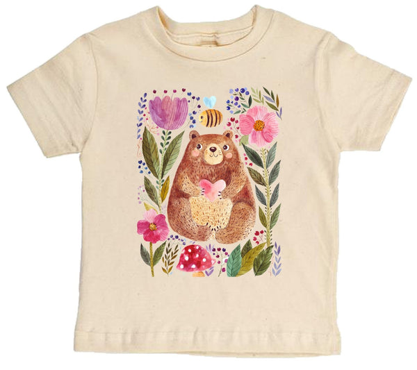 The Bee And The Bear Short Sleeve Organic Tee