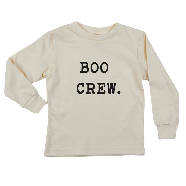 """The Boo Crew"" Long Sleeve Organic Tee"