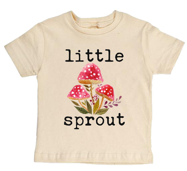 Little Sprout Short Sleeve Organic Tee