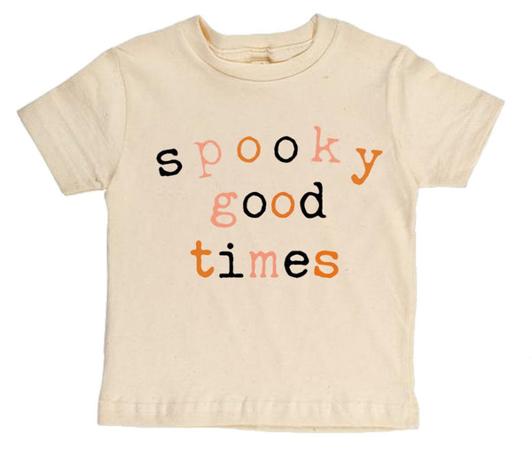 """Spooky Good Time"" Short Sleeve Organic Tee"