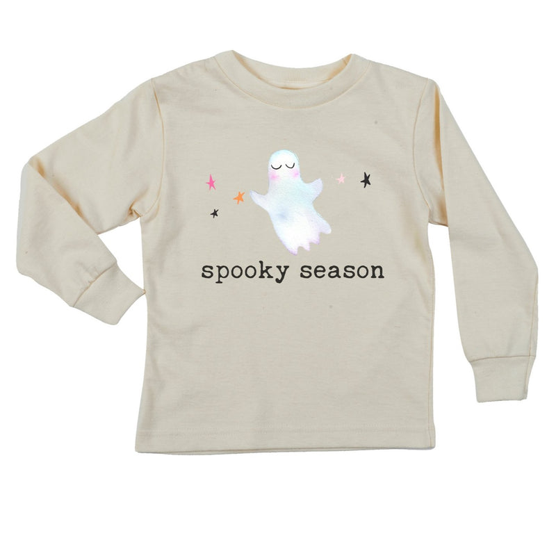 """Spooky Season"" Long Sleeve Organic Tee"