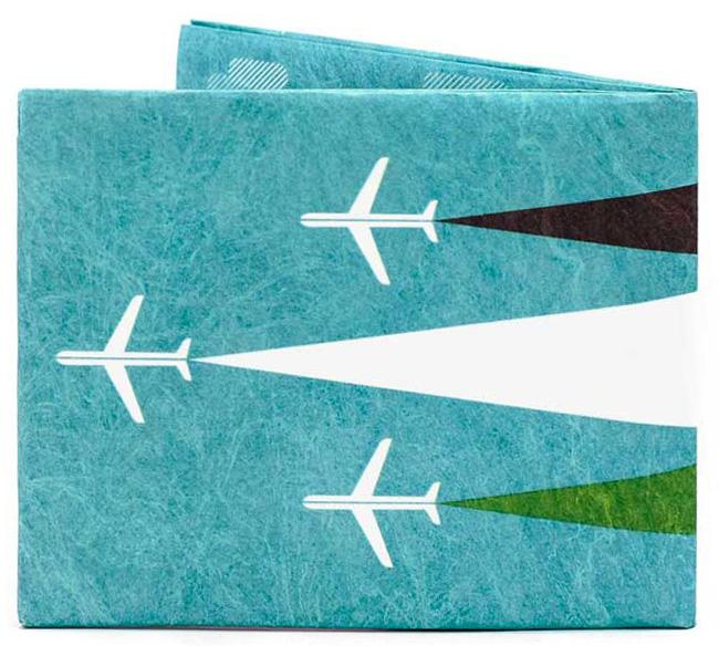 BILLETERA DELGADA AVION PAPERWALLET
