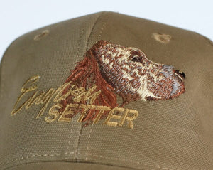 "Hunting hat ""English Setter"" olive"