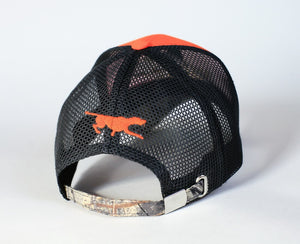 "Hunting hat ""English pointer"" orange+camo"