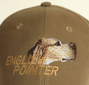 "Hunting hat ""English pointer"" olive"