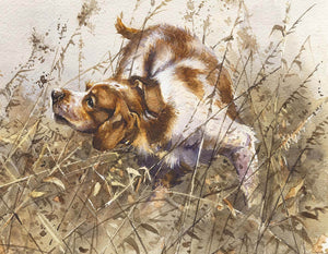 "Author's print ""Partridge Hunting"""