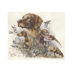 "Author's print ""Vizsla. Hunting"""