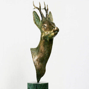 "Bronze sculpture ""Roe deer"""