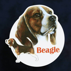 "Dog decal ""Beagle"""