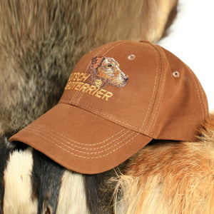 "Hunter's cap ""Deutsch jagdterrier"" brown"