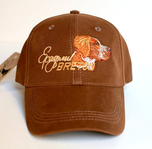 "Hunter's cap ""Epagneul Breton"" brown"