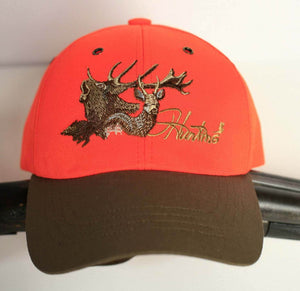 "Hunter's cap ""Hunting"" orange"