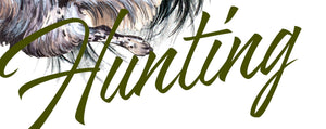 "Hunting decal ""English setter"""