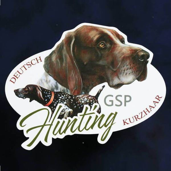 "Hunting dog decal ""Deutsch kurzhaar"""