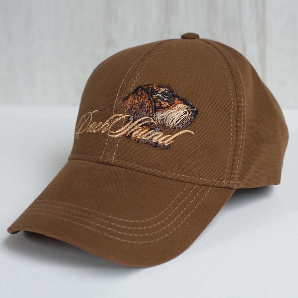 "Hunting hat ""Dachshund"" brown"