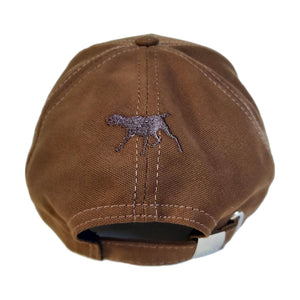 "Hunting hat ""German Shorthaired Pointer (Deutsch kurzhaar)"" brown"
