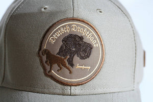 "Olive hunter's cap ""German wirehaired pointer"""