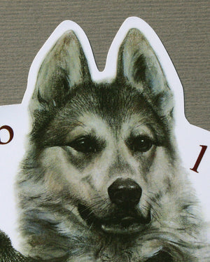 "Hunting dog decal ""West siberian laika"""