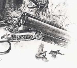 "Author's print ""GSP. A Born Hunter"""